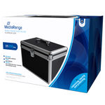 Silver MEDIARANGE BOX78/ /Optical Disc Cases